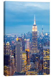 Canvas print  New York City skyline