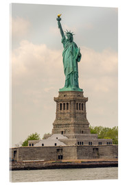 Acrylic print  Statue of Liberty