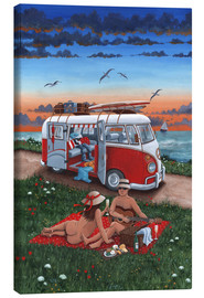 Canvas print  Naked lunch - Peter Adderley