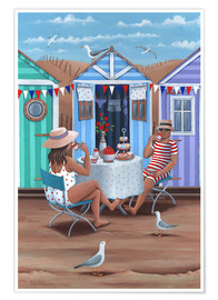Peter Adderley - Beach Huts Afternoon Tease (Variant 1)
