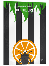 Acrylic glass  No531 My Beetlejuice minimal movie poster - chungkong