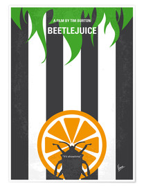 Premium poster No531 My Beetlejuice minimal movie poster