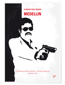 Premium poster No526 My MEDELLIN minimal movie poster