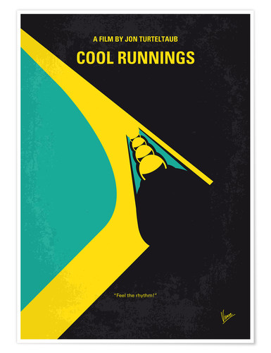 Premium poster Cool Runnings