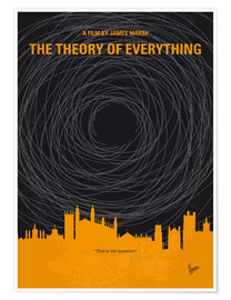 Premium poster No568 My The theory of everything minimal movie poster