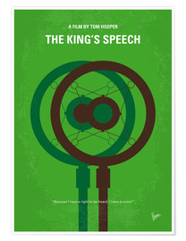Premium poster The King's Speech