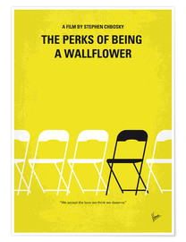 Premium poster No575 My Perks of Being a Wallflower minimal movie poster