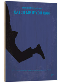 Wood print  Catch Me If You Can - chungkong