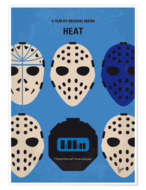 Premium poster No621 My Heat minimal movie poster
