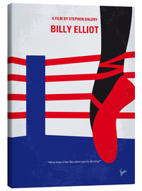 Canvas  No597 My Billy Elliot minimal movie poster - chungkong
