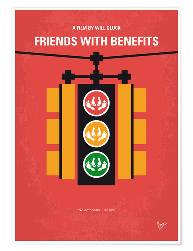Premium poster Friends With Benefits