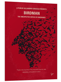 Forex  No604 My Birdman minimal movie poster - chungkong