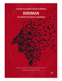 Poster No604 My Birdman minimal movie poster
