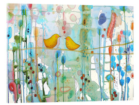 Acrylic glass  In every heart - Sylvie Demers