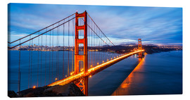 Canvas  Golden Gate Bridge in San Francisco
