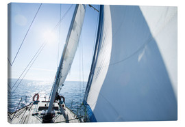 Canvas print  The sailing trip