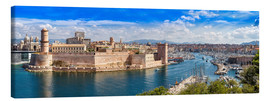 Canvas print  Vieux port in Marseille