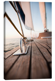 Canvas print  Sailing in the wind