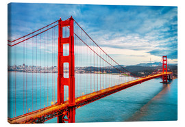 Canvas print  The Golden Gate Bridge, San Francisco