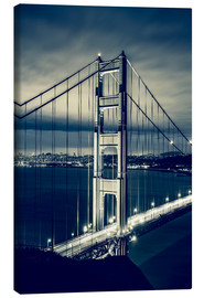 Canvas print  Golden Gate Bridge, San Francisco