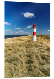 Acrylic glass  Lighthouse - Sylt Island - Achim Thomae