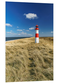 Foam board print  Lighthouse - Sylt Island - Achim Thomae