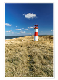 Premium poster  Lighthouse - Sylt Island - Achim Thomae