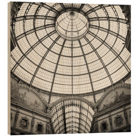 Wood  Milan - Galleria Vittorio Emanuele II (Analogue Photography) - Alexander Voss