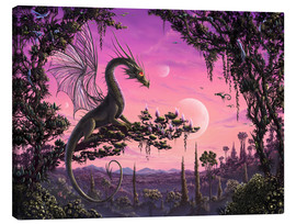 Canvas print  Dragon in Paradise - Susann H.