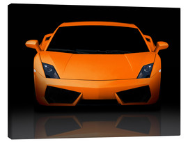 Canvas print  Bright Orange Supercar