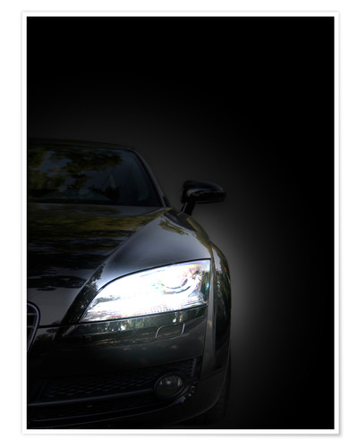 Premium poster The eye of the sports car