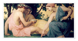 Premium poster  Le Printemps - William Adolphe Bouguereau