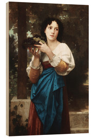 Wood  In the vine - William Adolphe Bouguereau