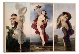 William Adolphe Bouguereau - The times of day (Triptych)
