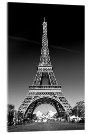 Acrylic print  The Eiffel Tower, Paris - Sascha Kilmer
