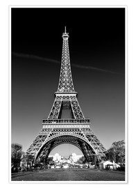 Premium poster  The Eiffel Tower, Paris - Sascha Kilmer