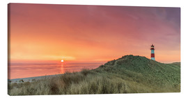 Canvas print  Golden Morning - Sylt - Achim Thomae