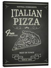 Canvas print  Italian Pizza