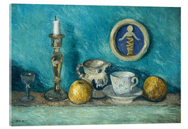 Acrylic print  Still Life with Robbia Putto - Paula Modersohn-Becker