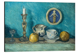 Aluminium print  Still Life with Robbia Putto - Paula Modersohn-Becker