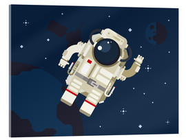 Acrylic print  Hello, little astronaut - Kidz Collection