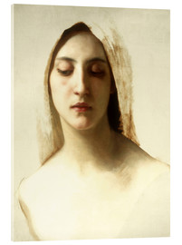 Acrylic glass  Study for 'La Charite' - William Adolphe Bouguereau