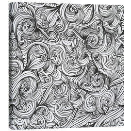 Canvas print  Curly pattern