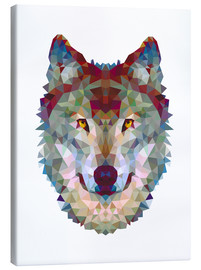 Canvas  Polygon Wolf