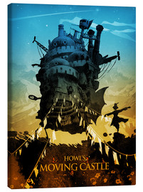Canvas  Howl's Moving Castle 2  - Albert Cagnef