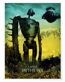 Premium poster Castle in the Sky