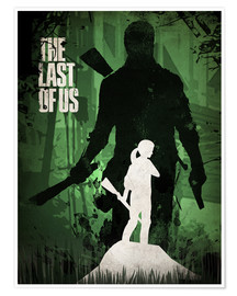 Premium poster  The Last Of Us - Albert Cagnef