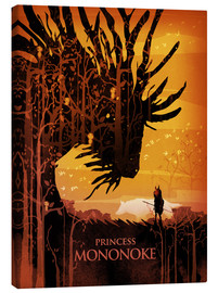 Canvas print  Princess Mononoke - Albert Cagnef