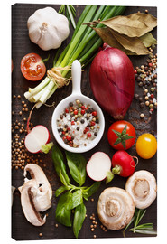 Canvas print  Ingredients for dinner