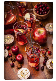 Canvas print  Christmas tea